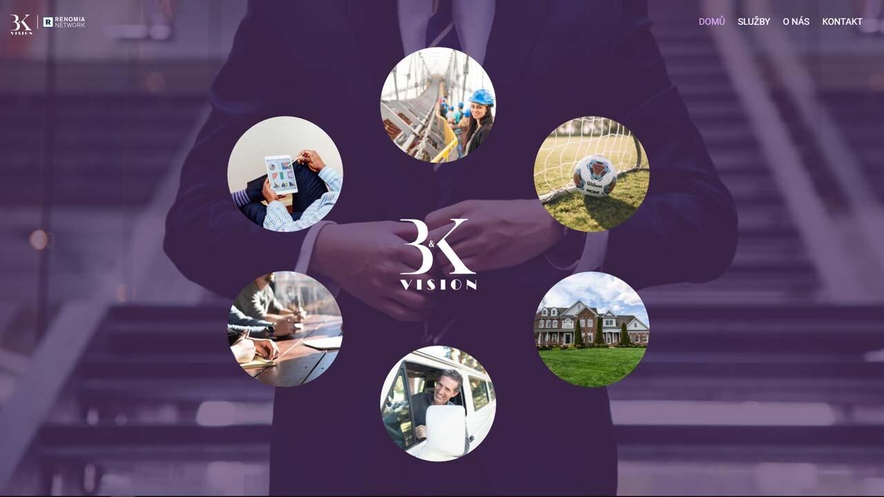 Tvorba webu pro firmu BKvision