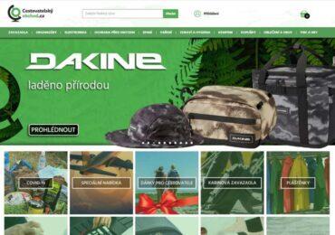 Tvorba webu pro firmu Cestovatelský obchod