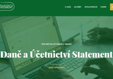 Webové stránky firmy Statement s.r.o.
