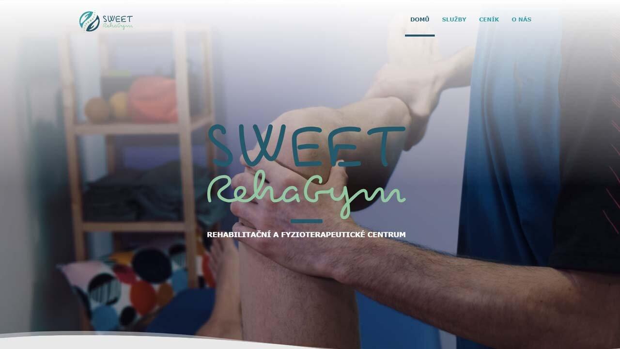 Tvorba webu pro firmu Sweet RehaGym