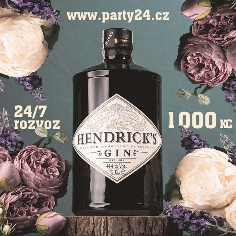 Produktová fotka Hendrick's Gin pro Party24 s.r.o.