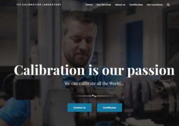 Webové stránky firmy ITS Calibration Laboratory